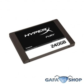 SSD Kingston HyperX Fury 2.5� 240GB SATA III 6.0Gb/s