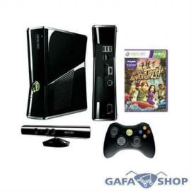 Xbox 360 250 Hd + Kinect + Jogo + 2 Controles