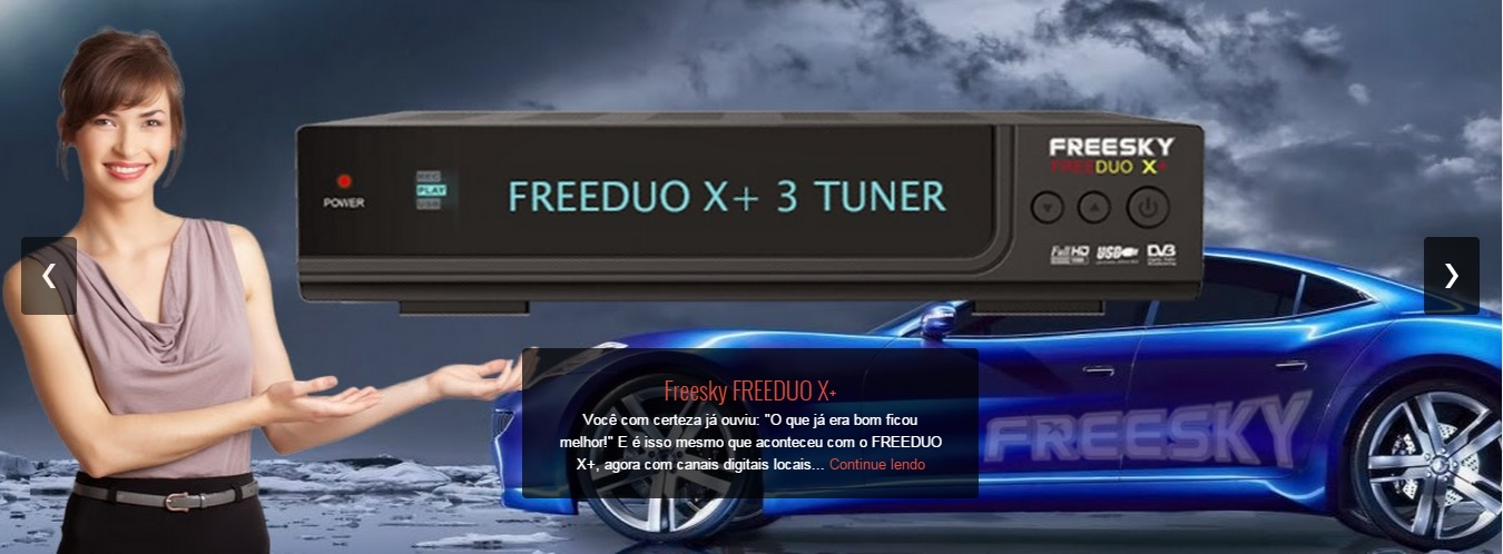 Colocar CS freeduo x  DuoX+ CineFlix via DLNA comprar cs